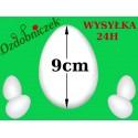 Jajko styropianowe 9 cm  IMPORT
