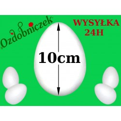 Jajko styropianowe 10cm