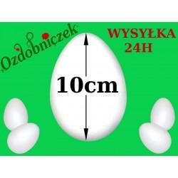 Jajko styropianowe 10cm  IMPORT