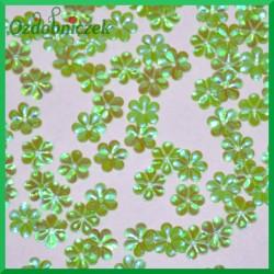 Cekiny stokrotki mini zielone opalizujące 5g/240g