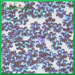 Cekiny stokrotki mini fioletowe opalizujące 5g/240g