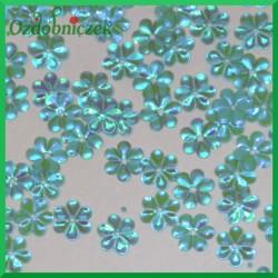 Cekiny stokrotki mini błękitne opalizujące 5g/240g