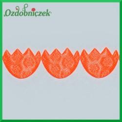 Aplikacje pisanki neonowy pomarańcz