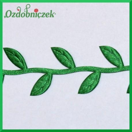 Aplikacje listki na gałązce zielone