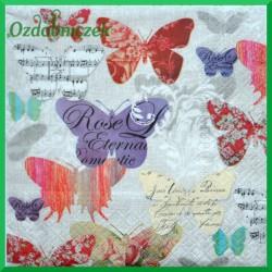 Serwetka do Decoupage motyle wycinanki 1 szt.