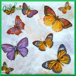 Serwetka do Decoupage motyle 1 szt.