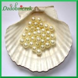 Perełki 10 mm ecru perłowe