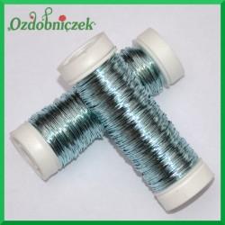 Drut florystyczny PET błękitny 25 g