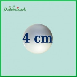 Kulka styropianowa, bombka 4cm