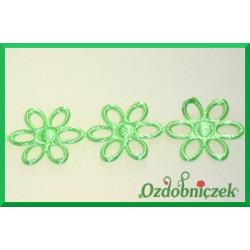 Aplikacje ażurki  małe zielone
