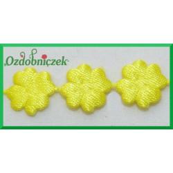 Aplikacje kwiatuszki mini cytrynowe