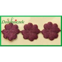 Aplikacje kwiatuszki mini bakłażan