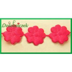 Aplikacje kwiatuszki mini amarantowy