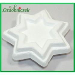Gwiazdka styropianowa DECO