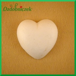 Serce styropianowe duże