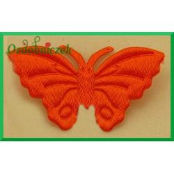 Aplikacje motylki pomarańczowe 5szt