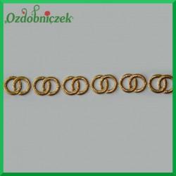 Aplikacja obrączki złote