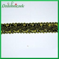 Taśma pleciona 1mb zielona