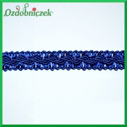 Taśma pleciona 1mb niebieska