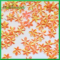 Cekiny kwiatuszki mini pomarańczowe 5g/160szt.