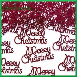 Cekiny konfetti Merry Christmas