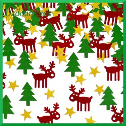 Cekiny konfetti Zabawny Rudolf