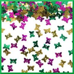 Cekiny konfetti kolorowe motylki