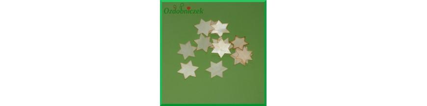 Gwiazdki z drewna osikowego