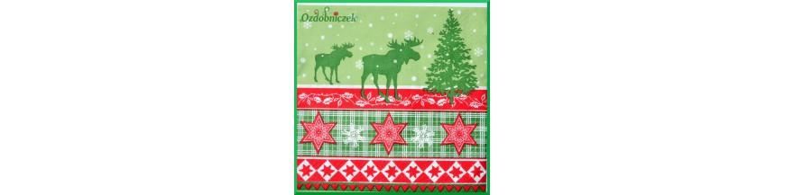 serwetki Bożonarodzeniowe